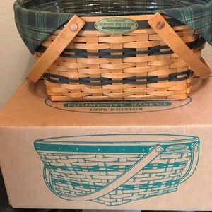 Longaberger 1996 community Basket Traditions Coll